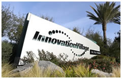 Innovation Village Sign